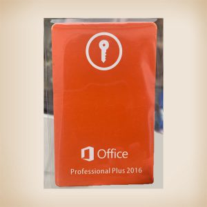 Microsoft Office Professional Plus 2016 Card [Retail]